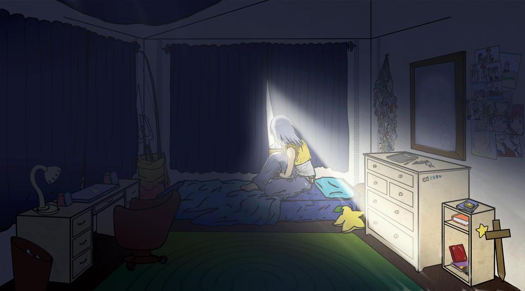 Computer Room Kingdom Hearts