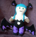 Morrigan Plushie- Commission by reeby10