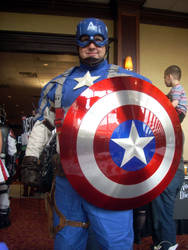 All-Con 2012- Captain America by reeby10