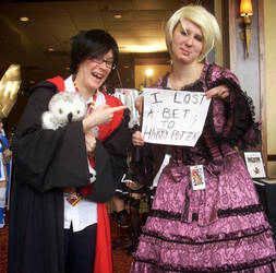 All-Con 2012- Harry and Draco by reeby10