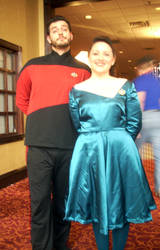 All-Con 2012- Riker and Troi by reeby10