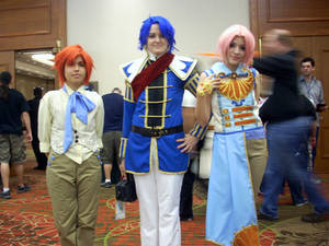 AFest 2012- Rory, Rhys, and Linneus