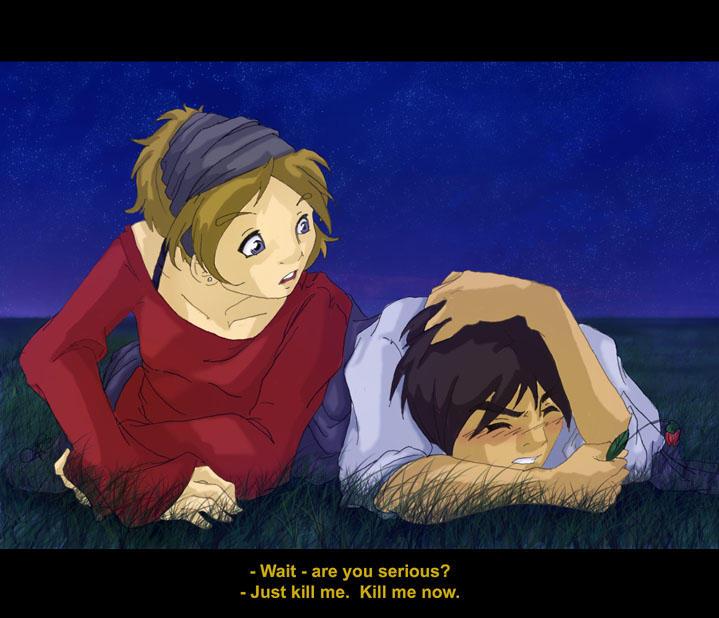 Kiyoshi's Proposal by Ranna