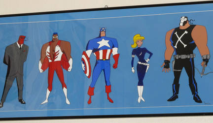 Captain America The animated series