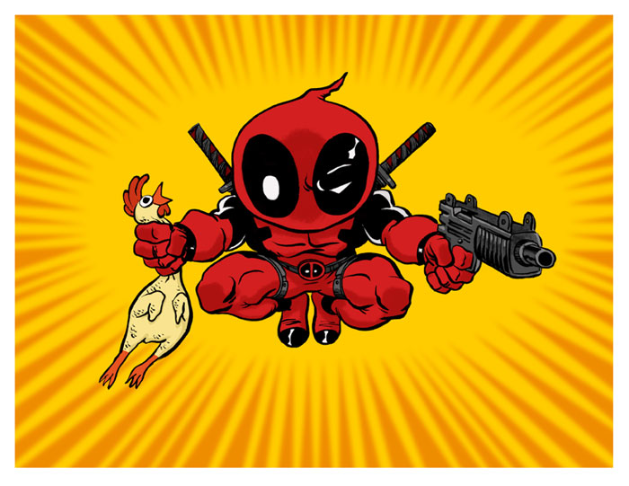 Deadpool sm by Hensrw