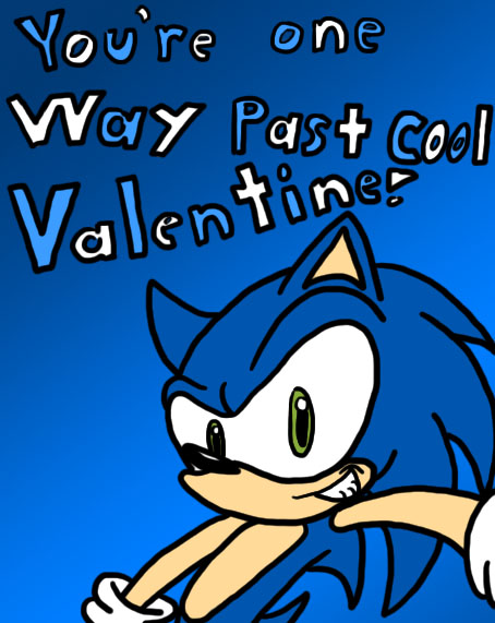 Sonic Valentine by lnsert-creative-name