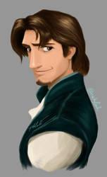 Flynn Rider-practice-painting