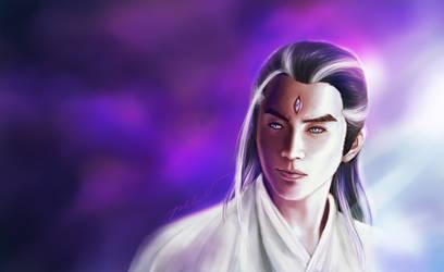 Erlang Shen Chinese God
