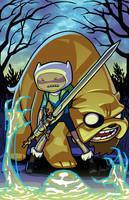 Adventure Time by JJKirby