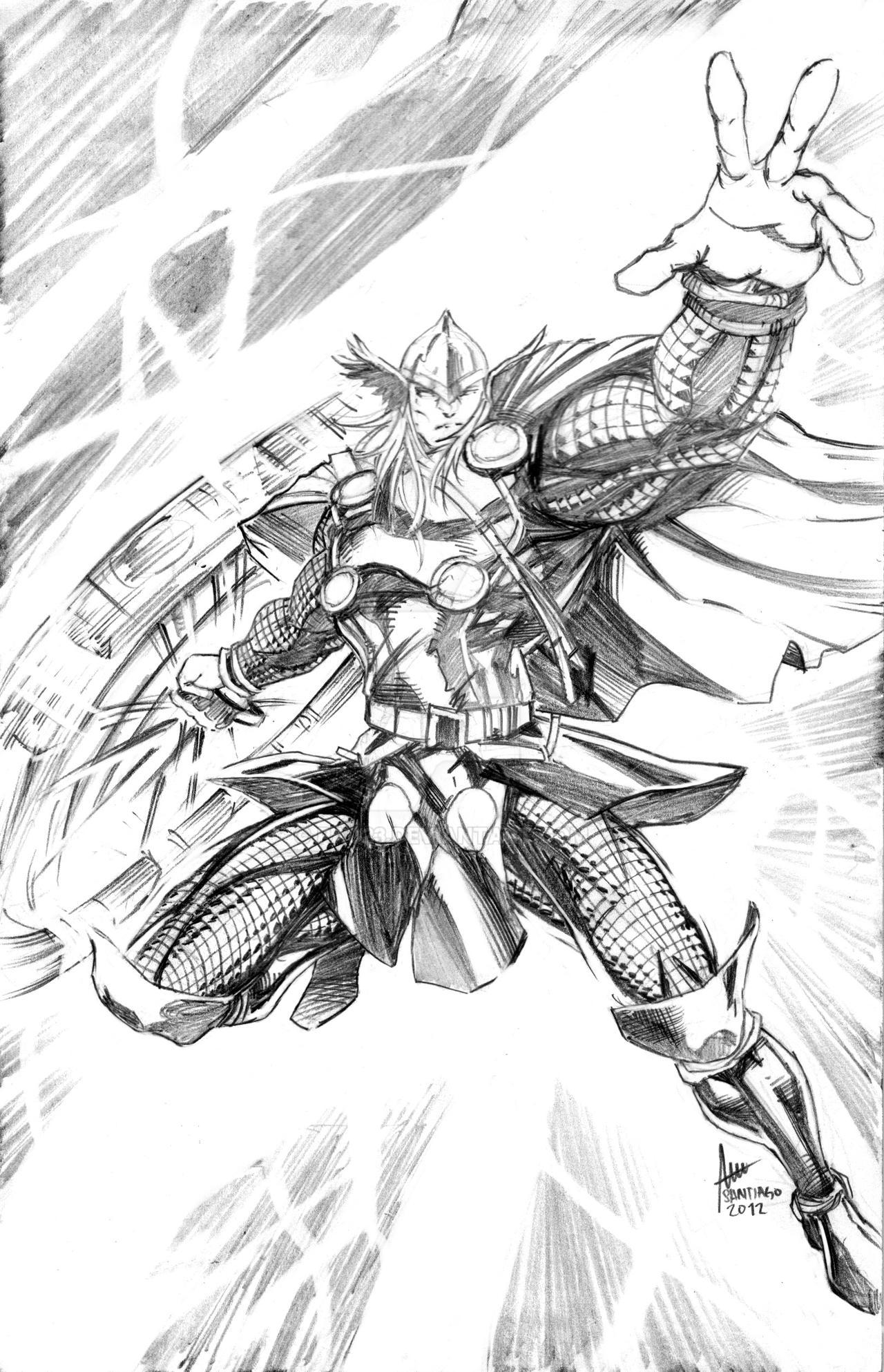Venom Vs Wolverine Tattoo Thor Pencils Sketch By Pac D Ledn