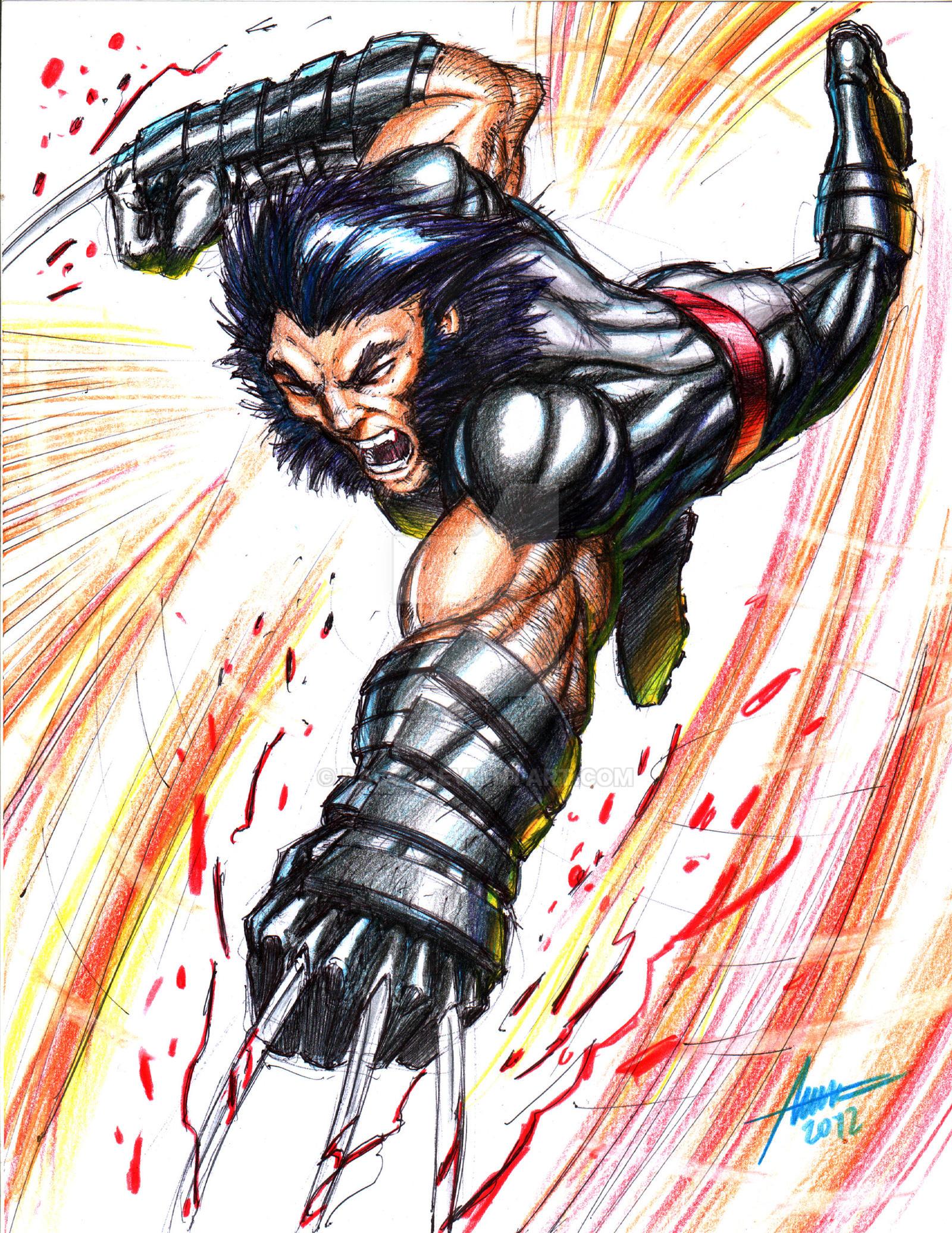 Venom Vs Wolverine Tattoo Wolverine Slash By Pac Diois