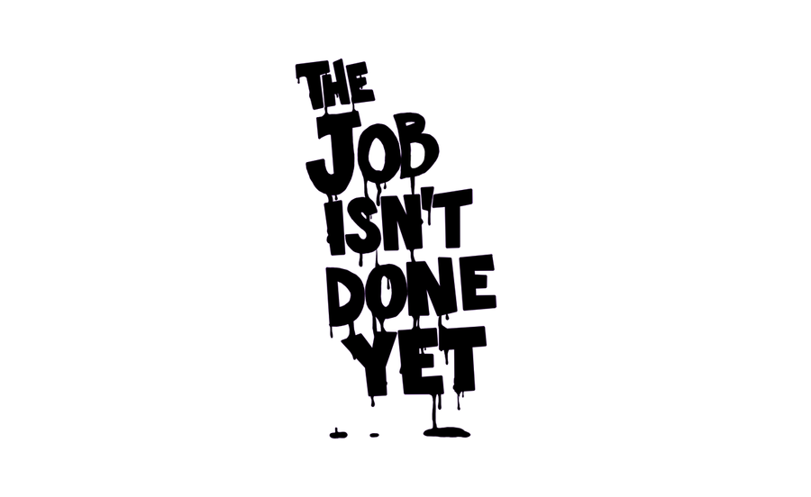 The Job Isn't Done Yet.... by NewWorldOrphans