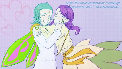 E7-SPOILER: Coralian Sisters by suzanami