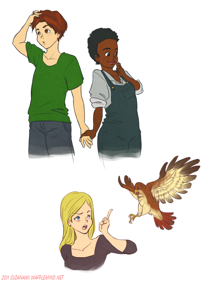 animorphs doodles by suzanami