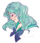 Sailor Neptune by suzanami