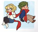 scarf sharing