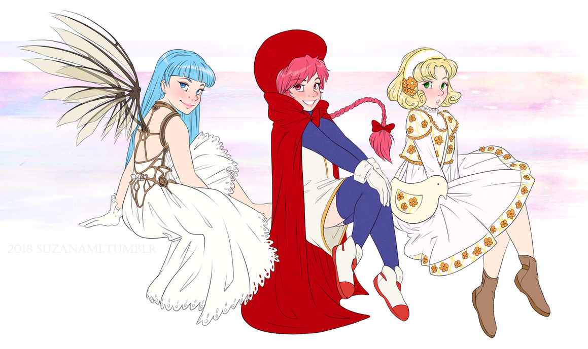 CLAMP girls by suzanami