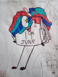 June is a very particular month by TinkerBellTheChihua