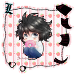 Hunger Will Prevail ~ Chibi L Lawliet