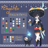 Angelito ~ Reference Sheet by Burucheri