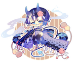 :OC: Chibi ~ Amaya (W / SPEEDPAINT)