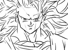 Goku SSJ3 by Cupidspoisondart