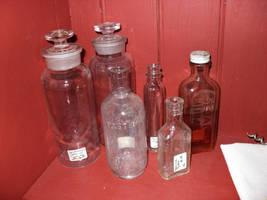 Medicine Bottles by BornCrazy7189