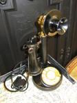 Black Rotary Phone