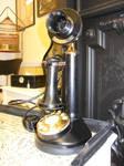 Black Rotary Phone 2