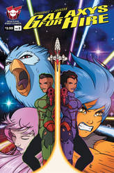 Galaxys For Hire Issue 2 (Variant)