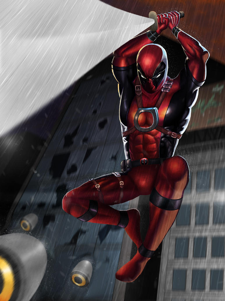 Deadpool by SweetnessMan