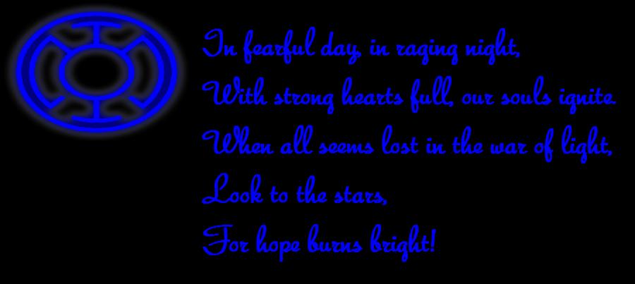 Blue Lantern Oath By Shozurei On Deviantart