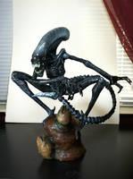 Alien sculpture by cigneutron