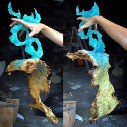 Xiall magic scroll Cosplay prop by cigneutron