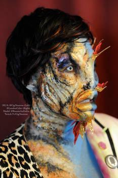 Koi makeup by Cig Neutron