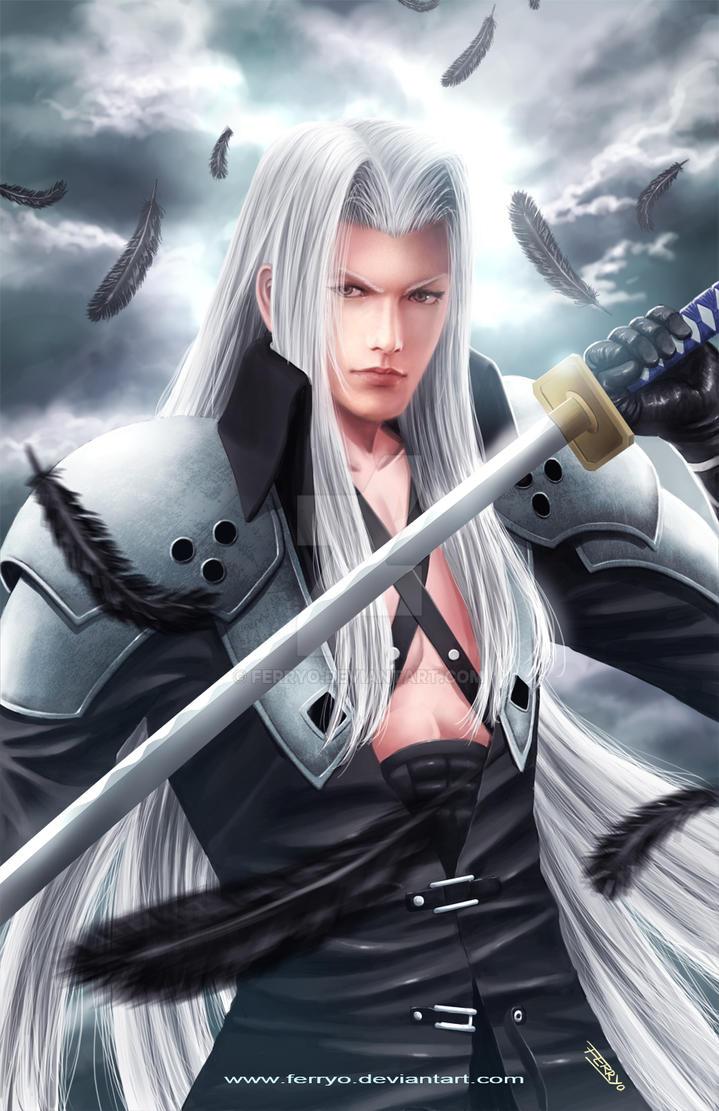 Sephiroth by ferryo