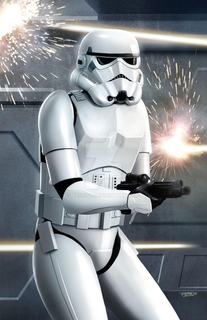 Stormtrooper by ferryo