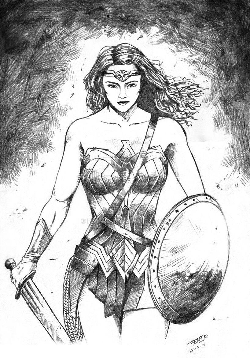 Wonder Woman by ferryo