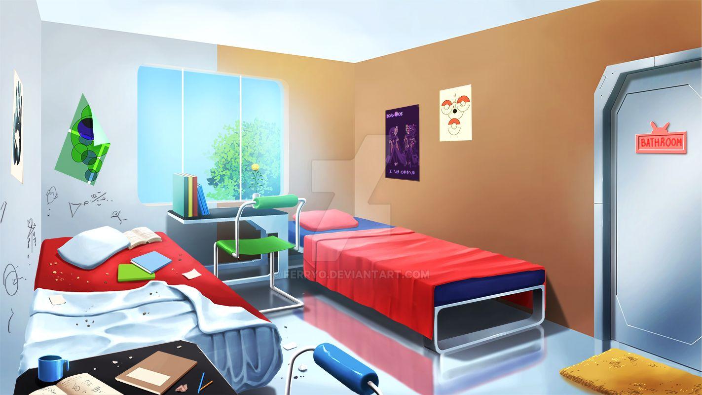 Dorm Room 3 by ferryo