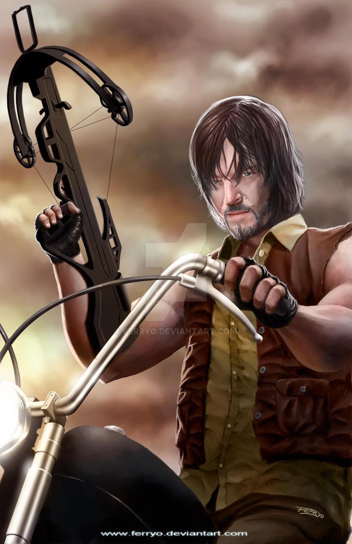 Daryl Dixon by ferryo