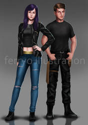 Henry Varrus and Luci Varrus