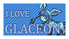 #471 - Glaceon Stamp by MrDarkBB