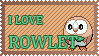 #722 - Rowlet Stamp by MrDarkBB