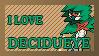 #724 - Decidueye Stamp by MrDarkBB
