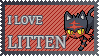 #725 - Litten Stamp by MrDarkBB