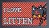 #725 - Litten Stamp by MrDarkBB