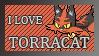 #726 - Torracat Stamp by MrDarkBB