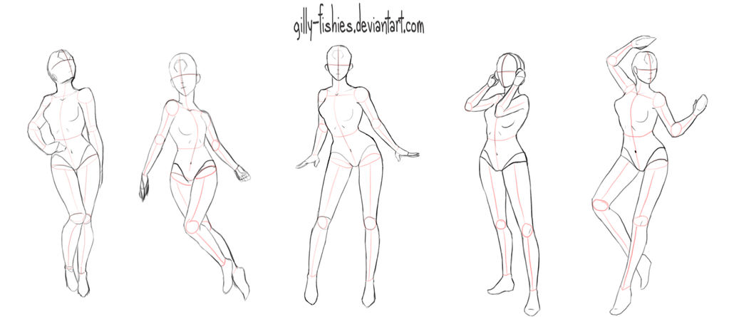 Pose Study 1 By Gilly Fishies On Deviantart