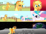 Applejack's Off-Planet Vacation