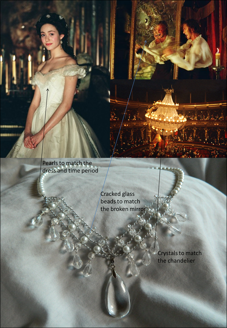 Phantom Of The Opera Inspired Necklace By Doc Ash1391 On Deviantart